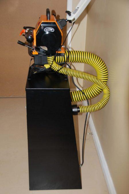 Wig Spitz Tunsten Grinder with Vacuum cabinet