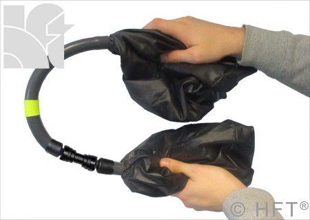 Flexible shaft Purge Bladders