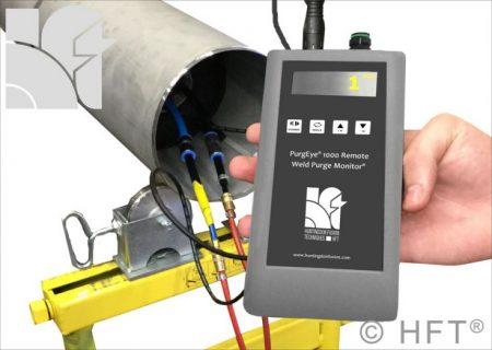 PurgEye 1000 remote use weld purge monitor