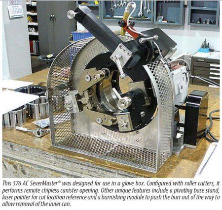 Model 576 Tube Severing Machine