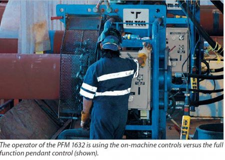 Pipe Fabrication Machinery PFM1632