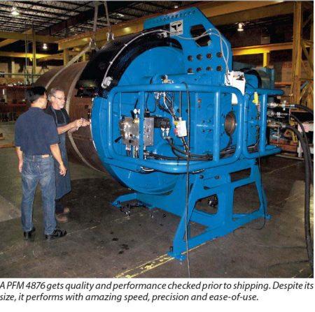 PFM4876 Pipe Fabrication Machinery