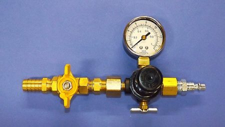 Pressure gauge and ball valve for GP Gas Plugs