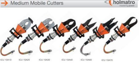 ICU 10A Cutter with different Blade Options