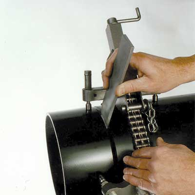 Spacing Wedge used with clamp