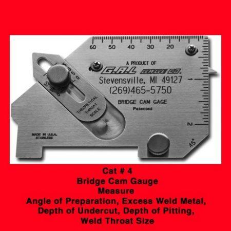 Bridge Cam Gauge - GAL Gage, In Stock, In Canada