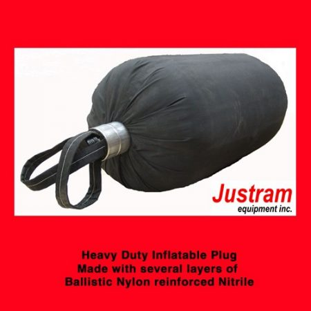 Heavy Duty Inflatable Bladder, Justram Canada