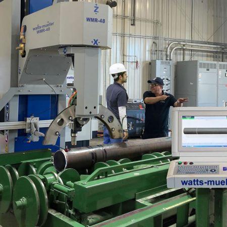 Retrofit Program CNC Pipe Cutting Machine